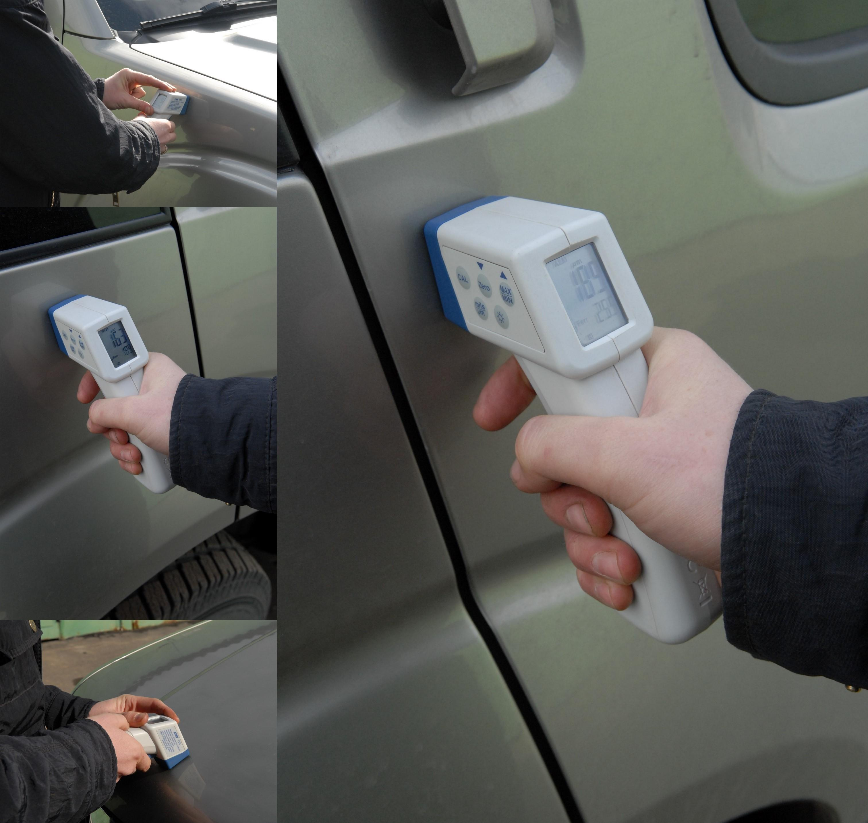 проверка автомобиля прибором