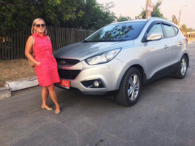 Ольга, Hyundai IX 35